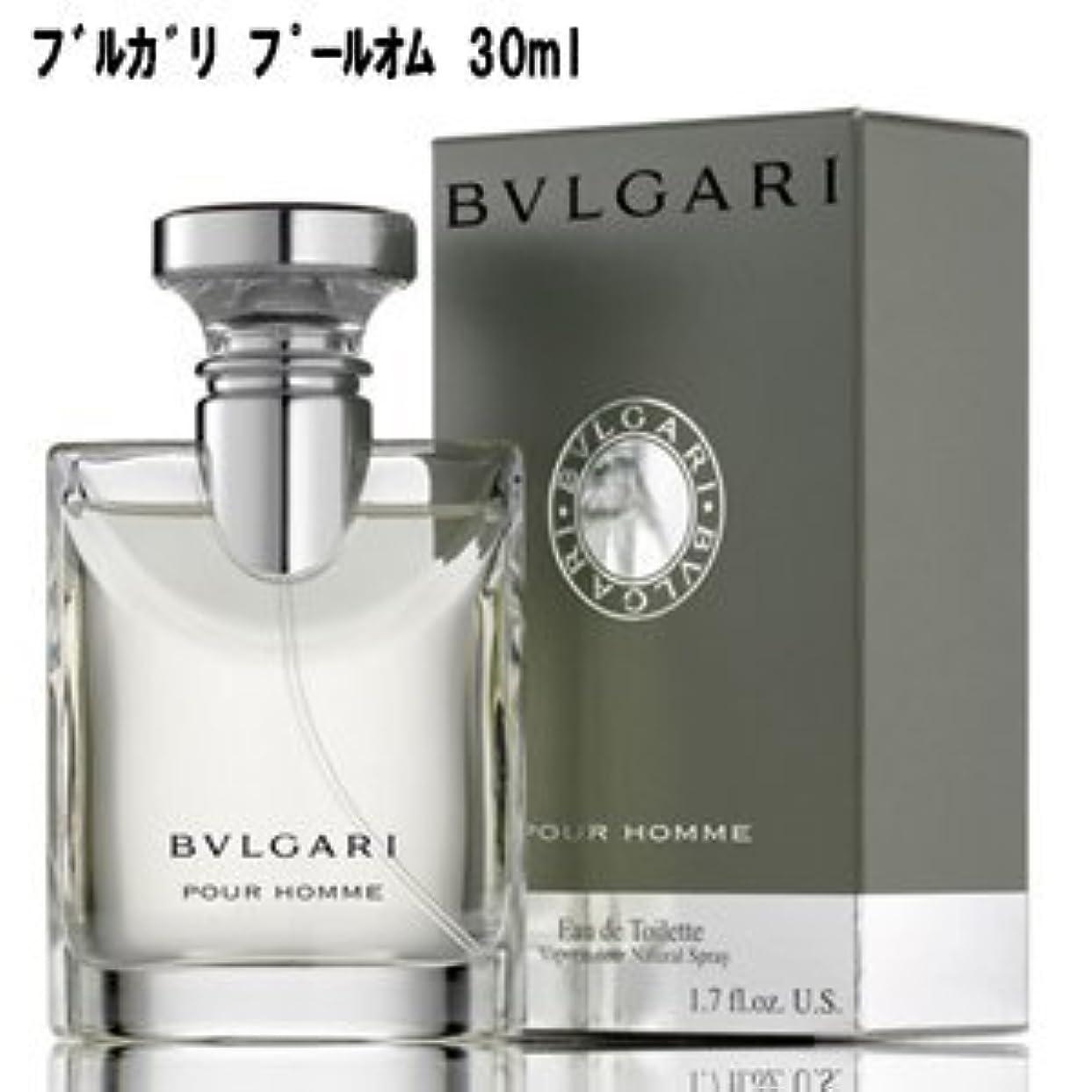 文化自治できるブルガリ香水 ブルガリ プールオム EDT SP 30ml 【並行輸入品】