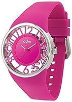オーディーエム SKY HOUR DD152C-03 Pink/Clear Swarovski Crystals 女性 レディース 腕時計 【並行輸入品】