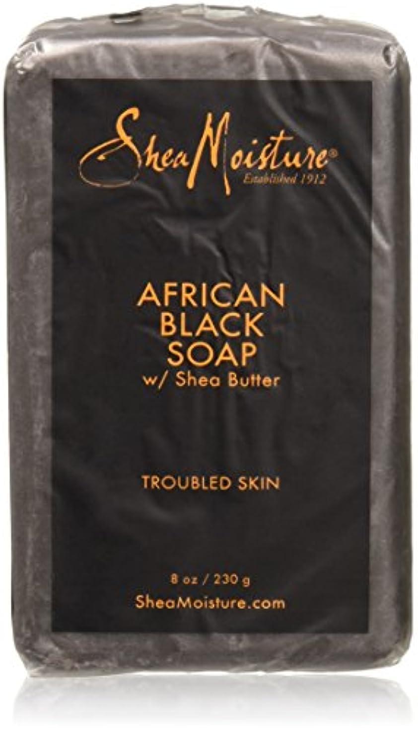 提供マングルネックレットShea Moisture - シアバターが付いているアフリカの黒い棒石鹸 - 8ポンド