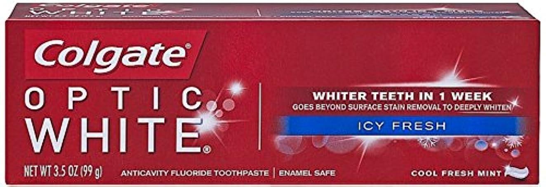 封筒吐く血色の良いColgate Colg光学WHT TpのアイシーFREサイズ3.5Zオプティックホワイトハミガキアイシーフレッシュ3.5Z 5パック