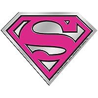 Licences Products DC Comics Originals Supergirl Logo 6cm Silver Metal Sticker