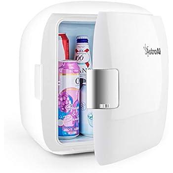 AstroAI 冷温庫 ミニ冷蔵庫 9L 小型でポータブル 家庭 車載両用 保温 保冷 2電源式 便利な携帯式 コンパクト 化粧品 小型冷蔵庫 日本語説明書 3年保証付き (9L) バレンタインギフト