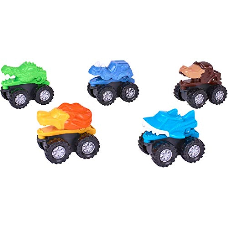 Spark Create イマジン 動物 モンスター トラック プレイセット