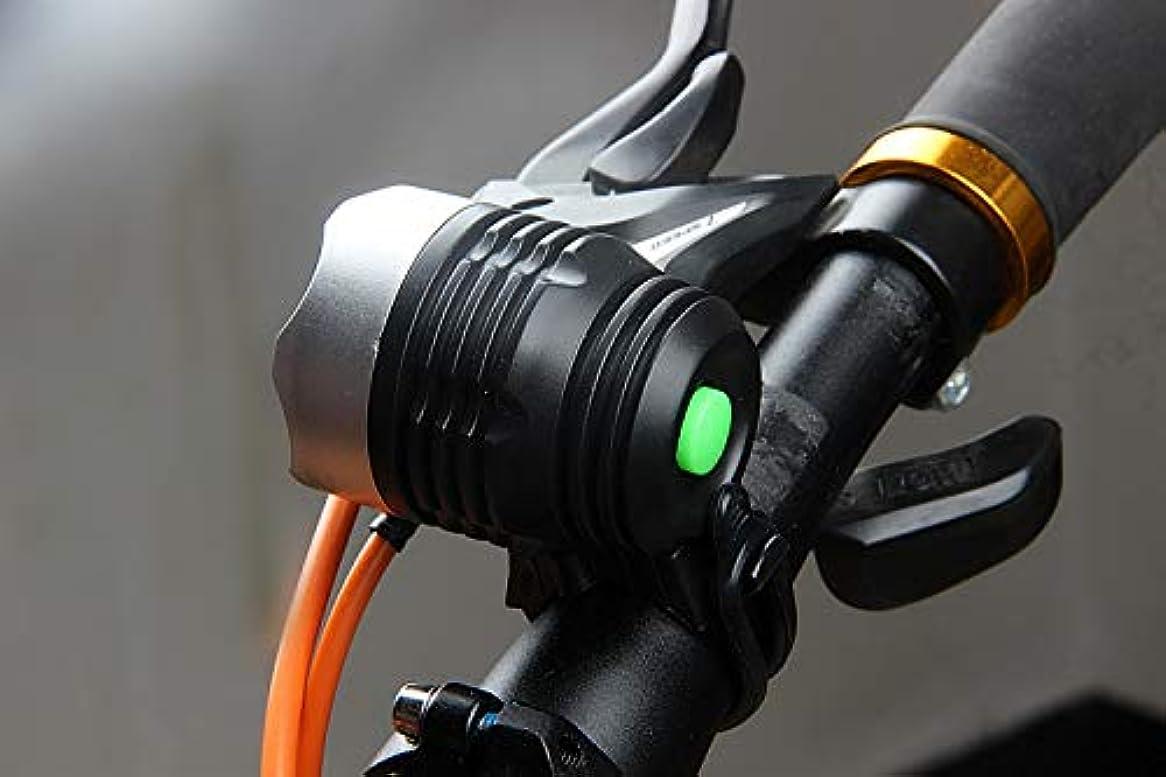 残酷な発送接尾辞充電式自転車ライト 明るい自転車用のオリジナルLED自転車充電式ライトセット  Jtogo.jpワイド&ロングカバー範囲