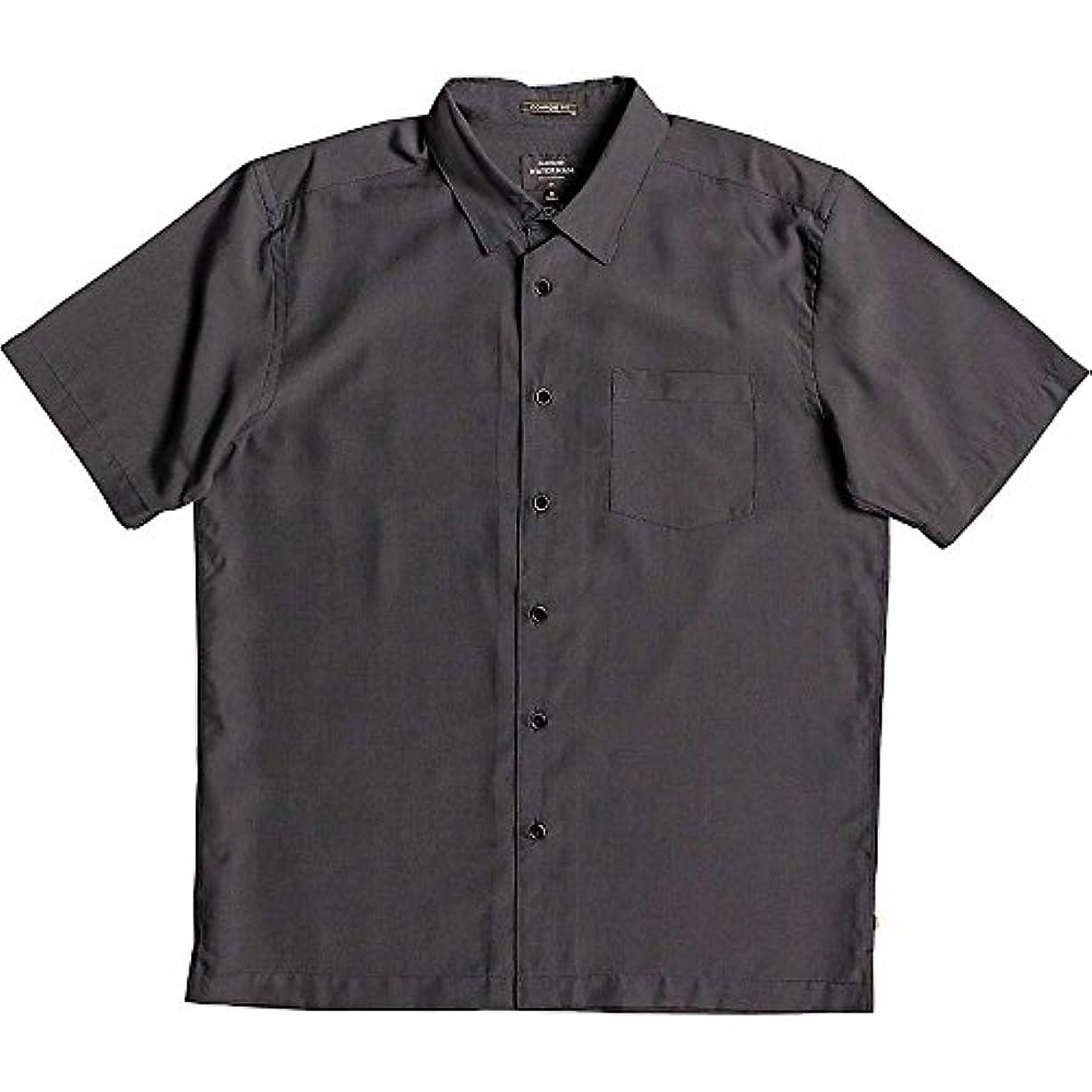 体細胞戦闘不利益(クイックシルバー) Quiksilver メンズ トップス 半袖シャツ Cane Island Shirt [並行輸入品]