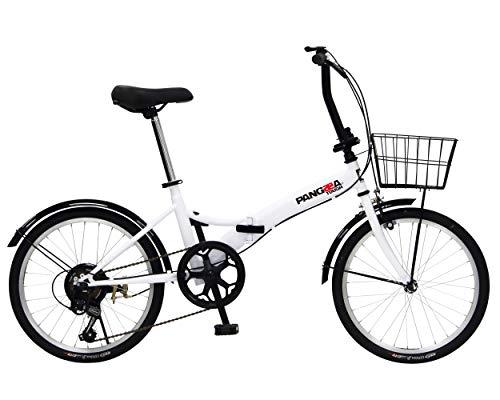 PANGAEA (パンゲア) パンクしない折りたたみ自転車 94201 B07JZBY2T1 1枚目