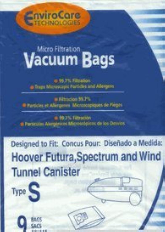 Hoover S Bags Allergen 9 Pack Generic [並行輸入品]