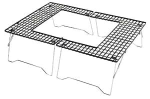 キャプテンスタッグ(CAPTAIN STAG) バーベキュー用 焚火台 ファイアグリル コンロ 机 テーブル M-6420M-6420