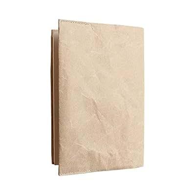 【SIWA 紙和】Book cover 180x305mm新書カバー 【Made in Japan(Yamanashi)】【紙製】【p】 お選びください,02Brown