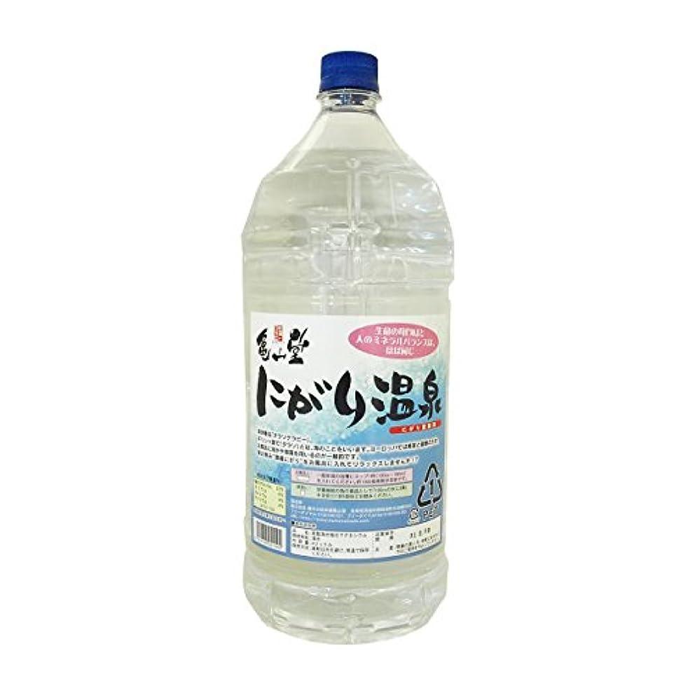 亀山堂 にがり温泉 ( 4L ) にがり 入浴剤 スキンケア などに