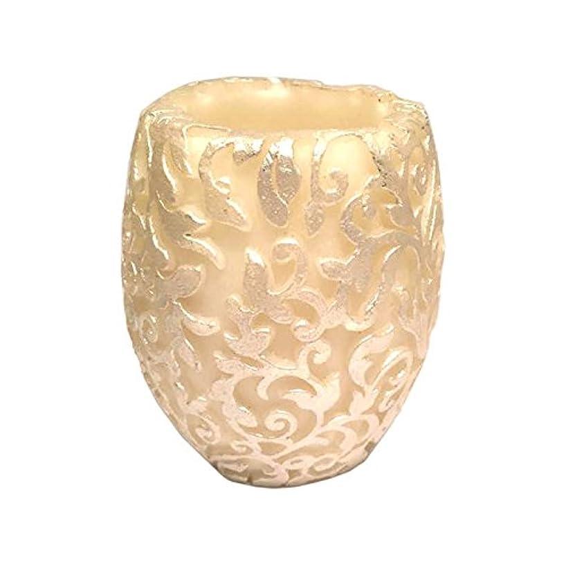 脊椎神社長々とスワールリーフ Vase (Ivory×Silver/ジャスミン&ミント)