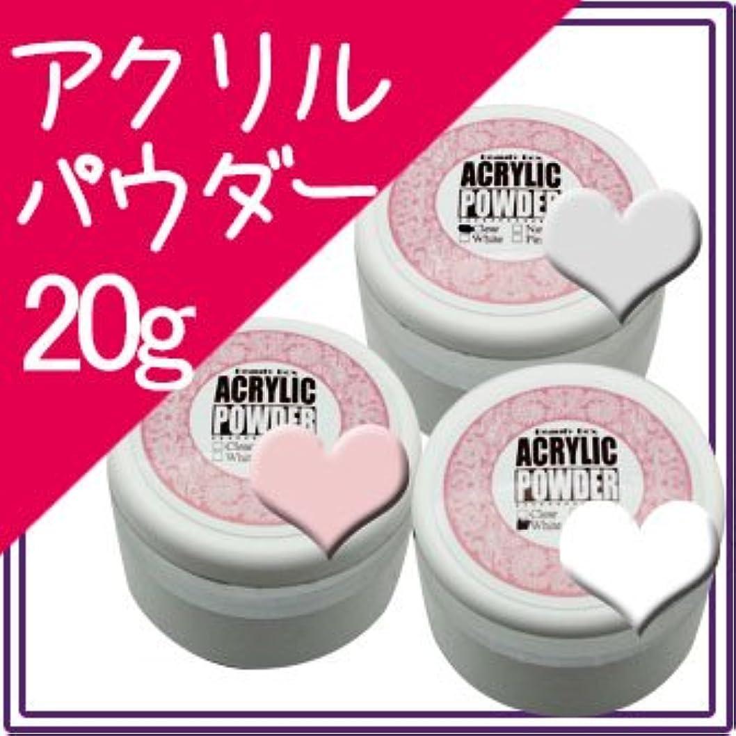 雰囲気どこか岩アクリルパウダー 20g【スカルプ アクリル スカルプチュア アクリルネイル】 (ピンク)