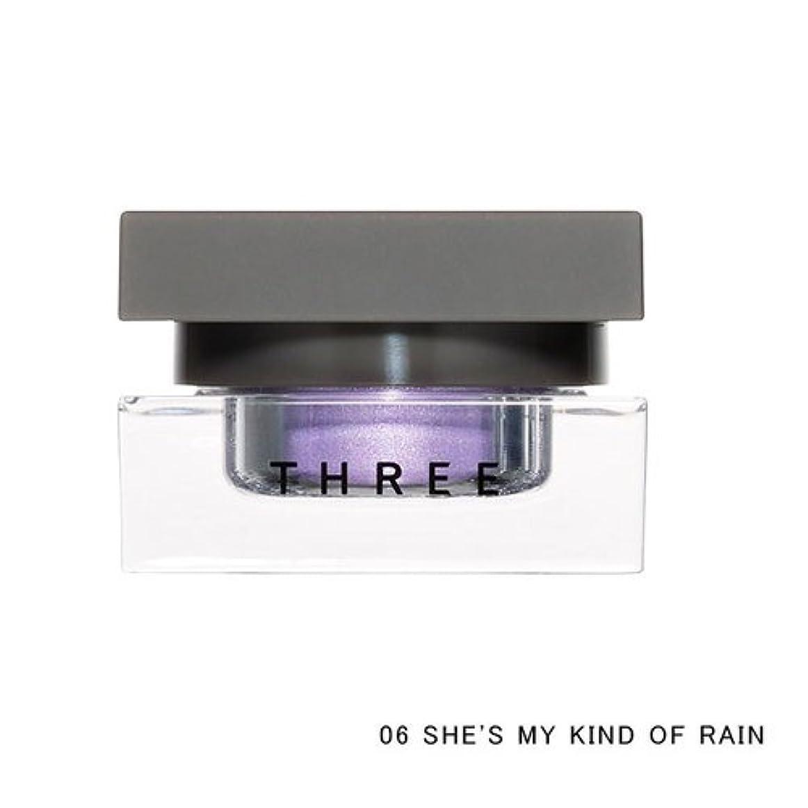 固有の味わう代表THREE(スリー) THREE シマリングカラーヴェール ステートメント (06 SHE'S MY KIND OF RAIN)