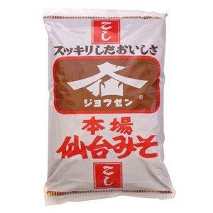 ジョウセン 本場仙台みそ(こし)1kg