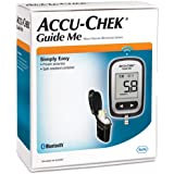 Accu-Chek Guide Me Blood Glucose Monitoring kit, Black, (Pack of 1)