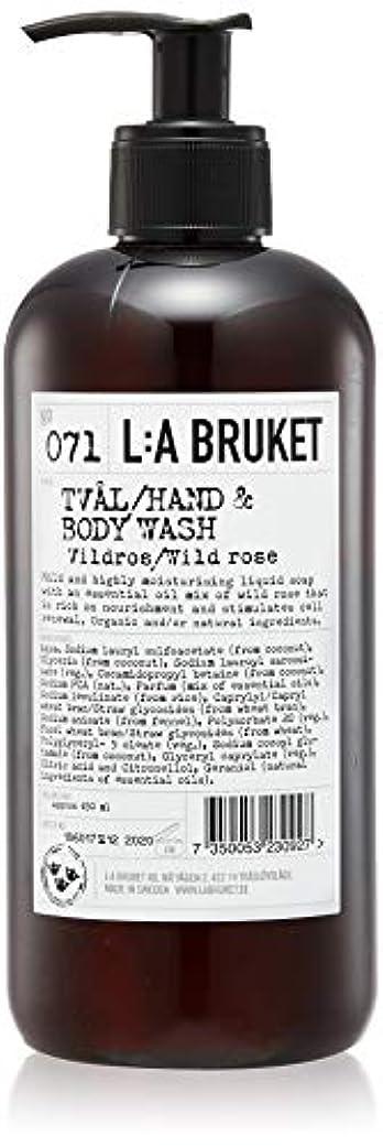 彼らのスパイラルラフトL:a Bruket (ラ ブルケット) ハンド&ボディウォッシュ (ワイルドローズ) 450g