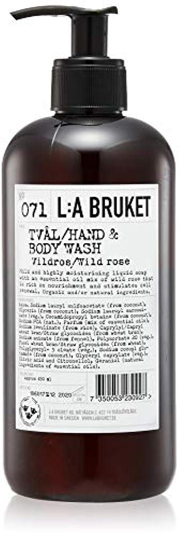 休日にキャンベラ受け入れL:a Bruket (ラ ブルケット) ハンド&ボディウォッシュ (ワイルドローズ) 450g