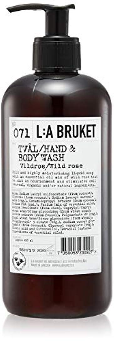 誇りそれからピストンL:a Bruket (ラ ブルケット) ハンド&ボディウォッシュ (ワイルドローズ) 450g