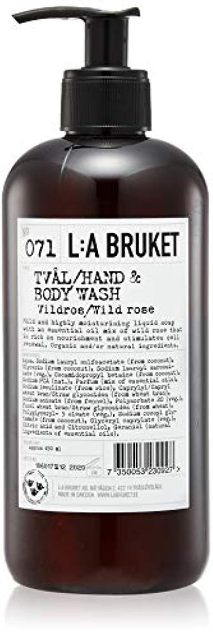 放つスタジアム国L:a Bruket (ラ ブルケット) ハンド&ボディウォッシュ (ワイルドローズ) 450g