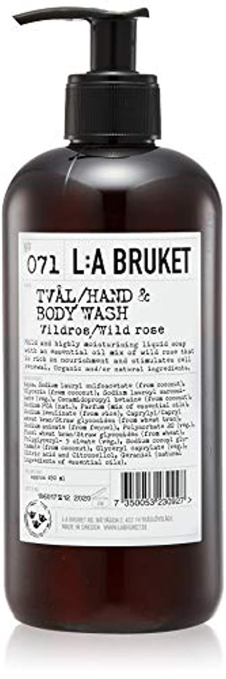 対応する悪行従順なL:a Bruket (ラ ブルケット) ハンド&ボディウォッシュ (ワイルドローズ) 450g