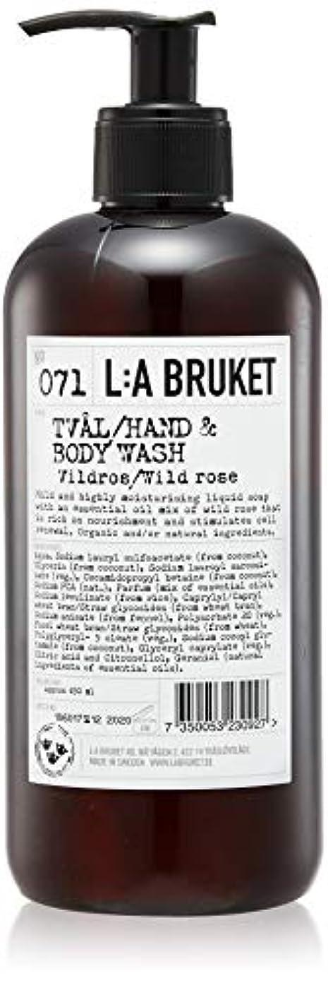 征服者弁護士懇願するL:a Bruket (ラ ブルケット) ハンド&ボディウォッシュ (ワイルドローズ) 450g