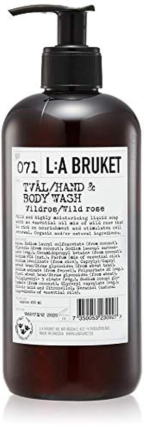 ラケット政治牧師L:a Bruket (ラ ブルケット) ハンド&ボディウォッシュ (ワイルドローズ) 450g