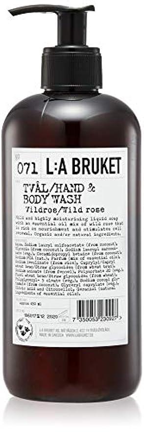 三角形マーカー傷つきやすいL:a Bruket (ラ ブルケット) ハンド&ボディウォッシュ (ワイルドローズ) 450g