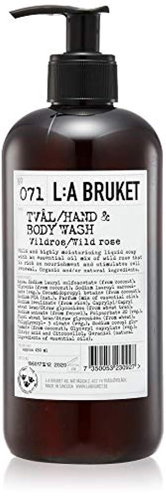 減衰サイレントメンダシティL:a Bruket (ラ ブルケット) ハンド&ボディウォッシュ (ワイルドローズ) 450g