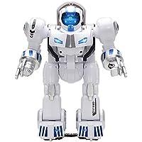 ラジコンロボット スマートロボット充電式 おもちゃ 科学知識 音楽ダンス 変形できる プログラム可能 遠隔操作 インテリジェント 多機能ロボット子供の誕生日プレゼント知育玩具