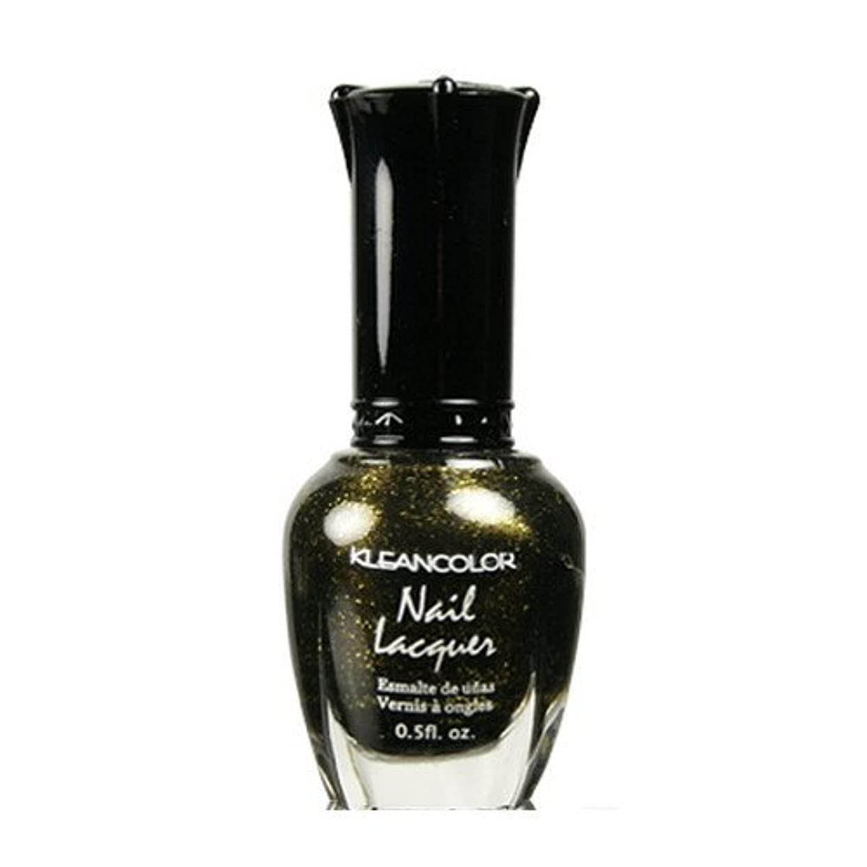領収書ソースパスタ(6 Pack) KLEANCOLOR Nail Lacquer 2 - Golden Nightmare (並行輸入品)