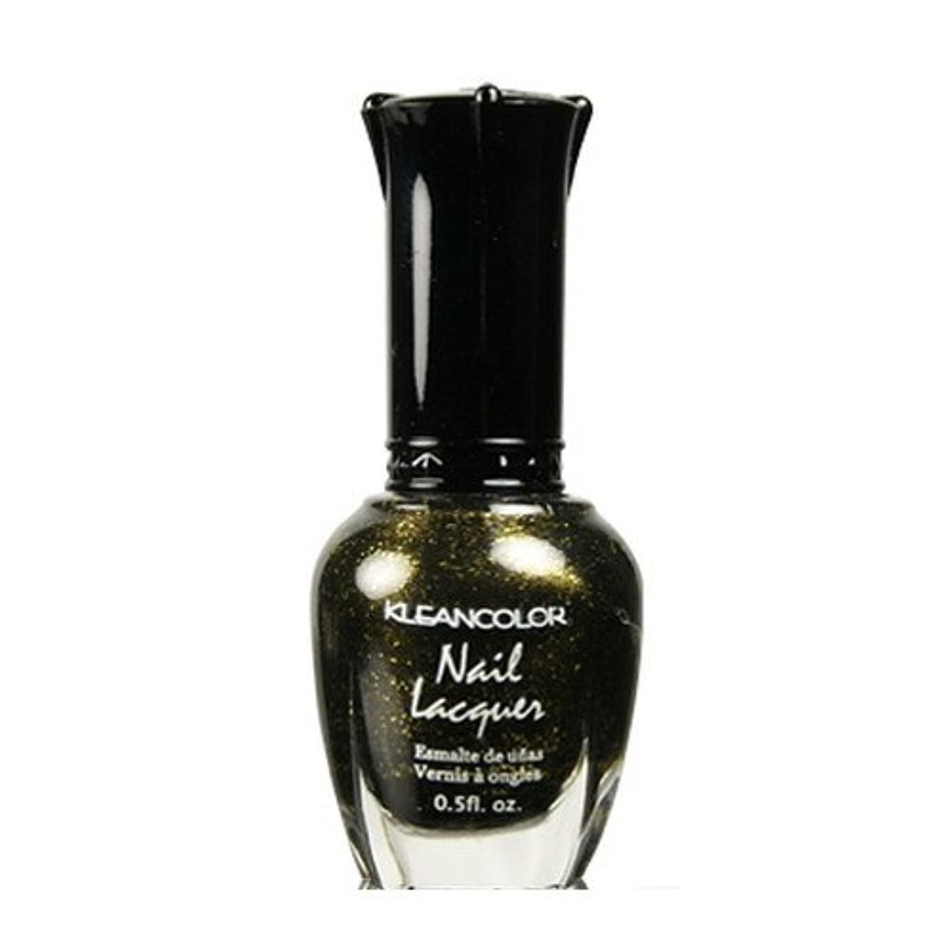 (3 Pack) KLEANCOLOR Nail Lacquer 2 - Golden Nightmare (並行輸入品)