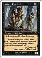 英語版 第7版 Seventh Edition 7ED 蠢く骸骨 Drudge Skeletons マジック・ザ・ギャザリング mtg