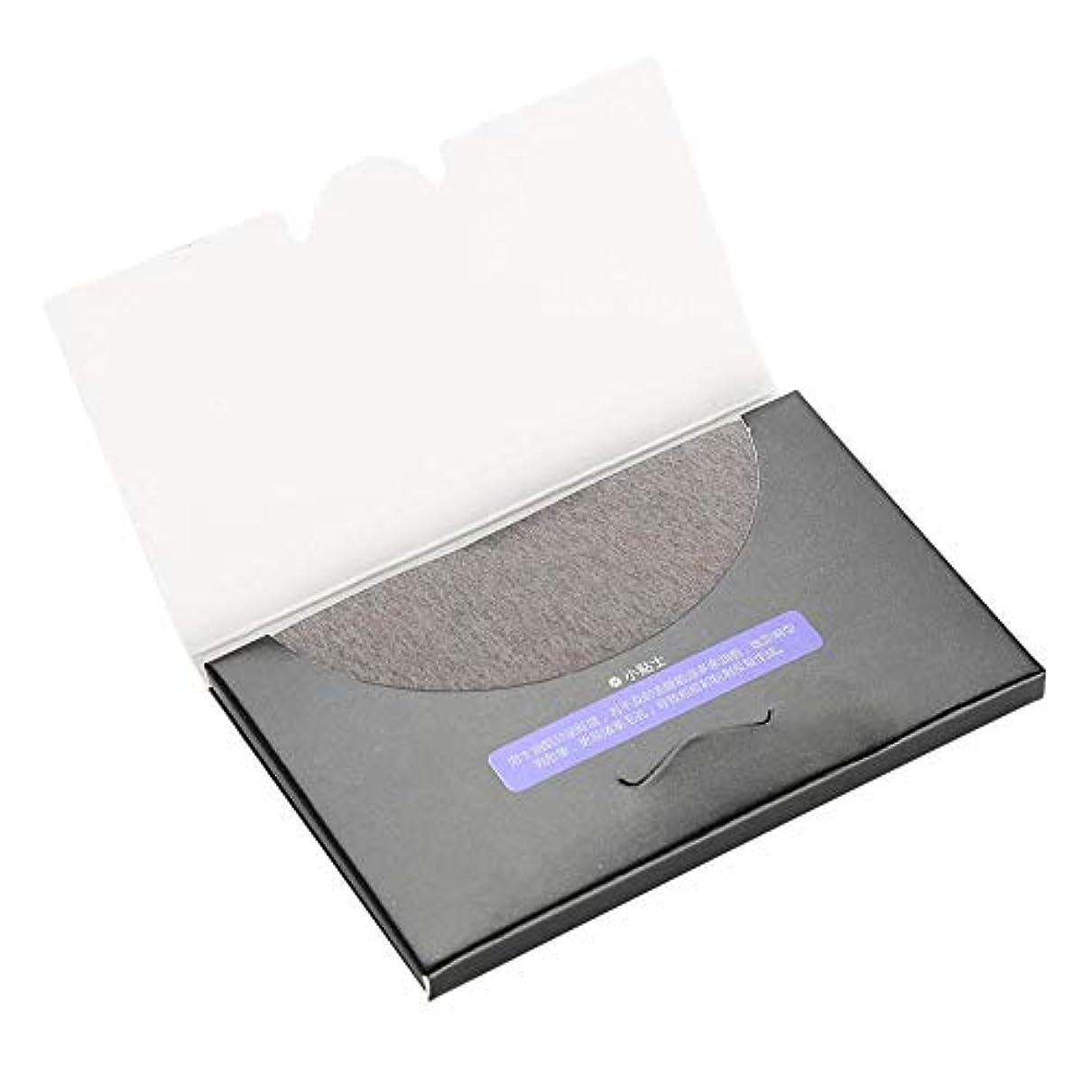 女の子船尾受粉する80枚/袋吸油布 - 化粧フィルムのクリーニング、吸い取り紙の消去 - きれいな吸い取り紙