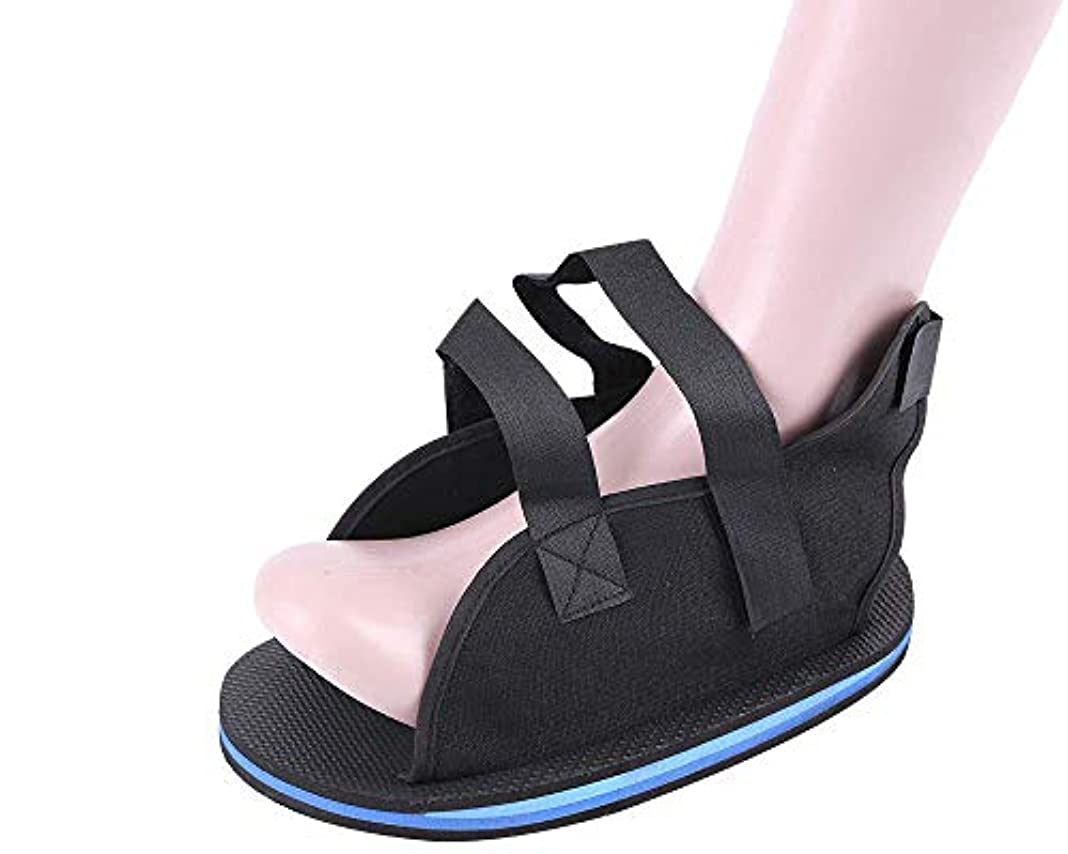 骨折したつま先/足の骨折の術後靴 - 傷害後のフットキャスト回復のための整形外科用装具と軽量の医療用ウォーキングブーツ,XS