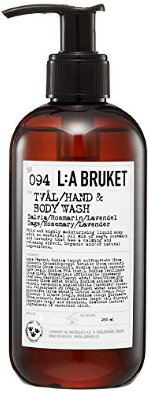 浴組み合わせ数字L:a Bruket (ラ ブルケット) ハンド&ボディウォッシュ (セージ?ローズマリー?ラベンダー) 250g