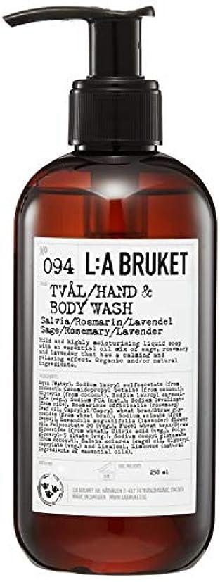 磁器カップル溶けたL:a Bruket (ラ ブルケット) ハンド&ボディウォッシュ (セージ?ローズマリー?ラベンダー) 250g