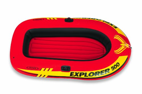 INTEX(インテックス) ボート エクスプローラー 300 SET 211×117×41cm 58332 オール・ポンプ付属 [日本正規品]