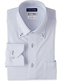 [ハルヤマ] i-shirt 完全ノーアイロン ストレッチ 速乾 長袖 アイシャツ ワイシャツ メンズ M151190022