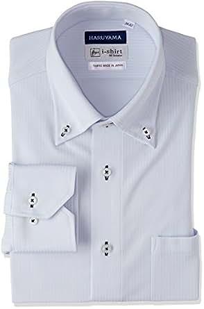 (はるやま) HARUYAMA(ハルヤマ) i-shirt 完全ノーアイロン 長袖 ボタンダウンアイシャツ M151180044 81 サックス 3L86(首回り45cm×裄丈86cm)