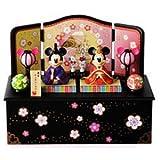 ディズニーリゾート限定発売 ミッキーとミニーの雛人形(台付き) ひな人形 雛人形 お雛様 ひな祭り 雛祭り