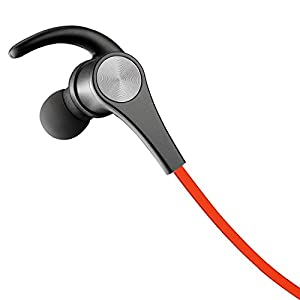 SoundPEATS(サウンドピーツ) Q12 Bluetooth イヤホン 高音質 apt-X対応 マグネット搭載 マイク付き スポーツ ブルートゥース イヤホン レッド