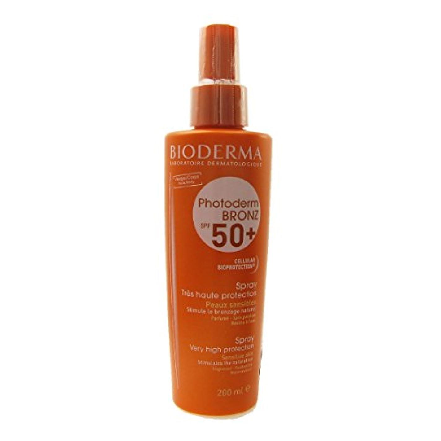 合金住人ブレースBioderma Photoderm Bronz Spf 50 Spray 200ml [並行輸入品]