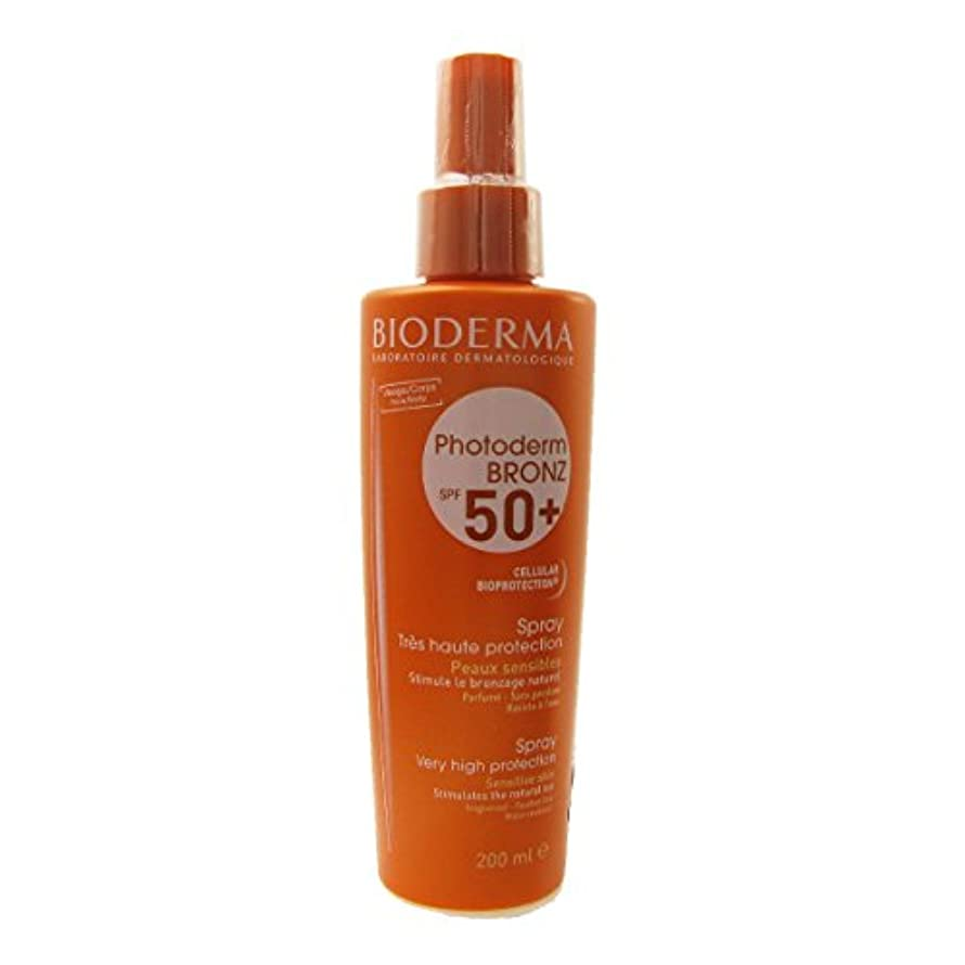 塩誓う華氏Bioderma Photoderm Bronz Spf 50 Spray 200ml [並行輸入品]