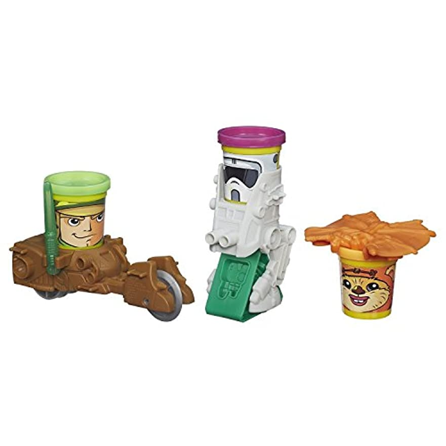 Play-Doh Star Wars Mission on Endor Featuring Can-Heads [並行輸入品]