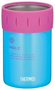 サーモス 保冷缶ホルダー ブルー JCB-351 BL