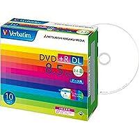 - まとめ - / バーベイタム/データ用DVD+R/DL / 8.5GB / 8倍速 / ワイドプリンターブル / 5mmスリムケース / DTR8510V1 / 1パック - 10枚 - / - ×2セット -