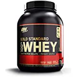 Optimum Nutrition Gold Standard 1 Whey Strawberry Protein Powder, 2.27 Kilograms