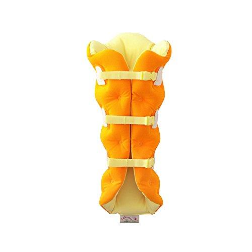 足枕 サクラ咲くまくら 片足用 オレンジ(1コ入)
