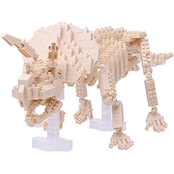 ナノブロック トリケラトプス骨格モデル NBM-017