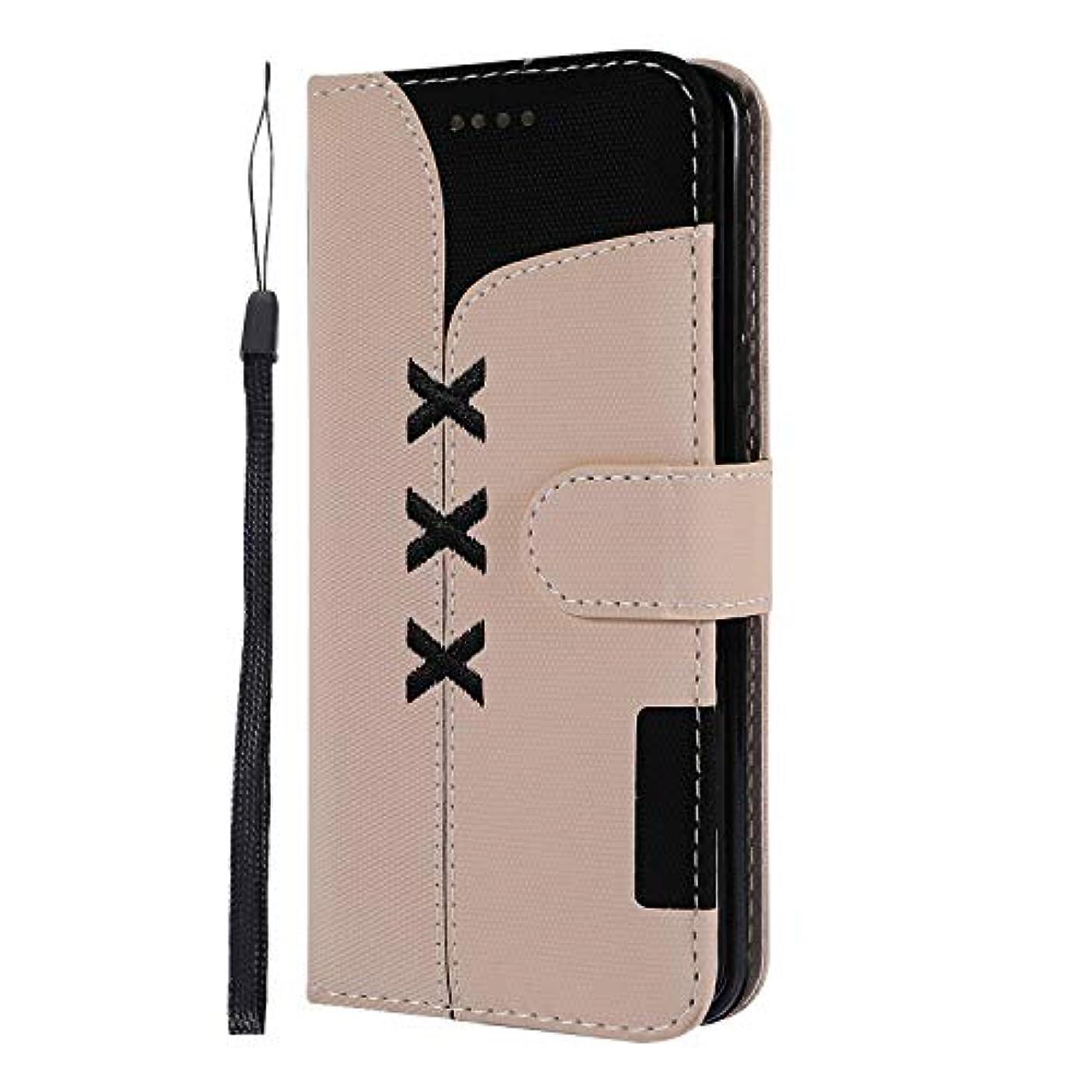 不運寮用心深いLomogo Galaxy S9 / docomo SC-02K / au SCV38 ケース 手帳型 耐衝撃 レザーケース 財布型 カードポケット スタンド機能 マグネット式 ギャラクシーS9 手帳型ケース カバー 人気 - LOGHU040228 白